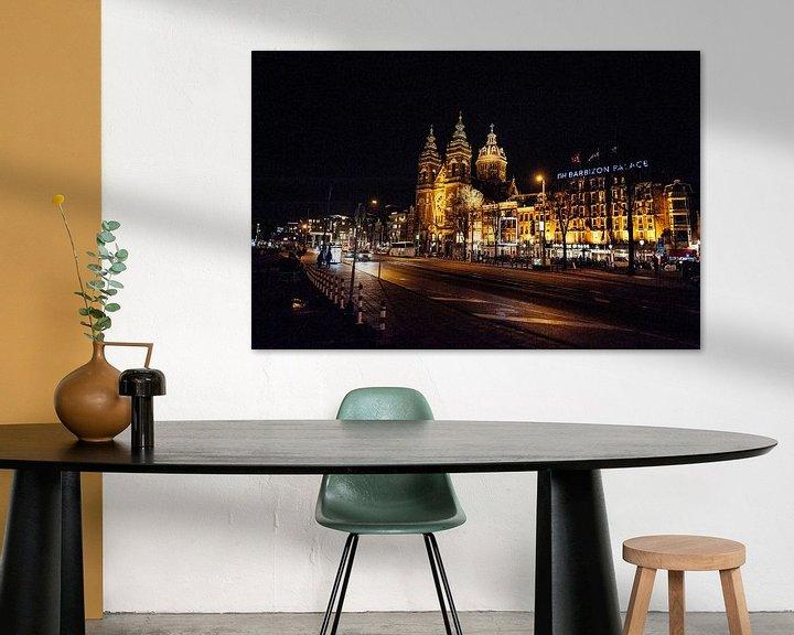 Beispiel: Amsterdam bei Nacht von Brian Morgan