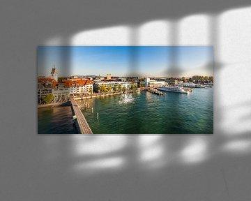Hafen von Friedrichshafen am Bodensee von Werner Dieterich