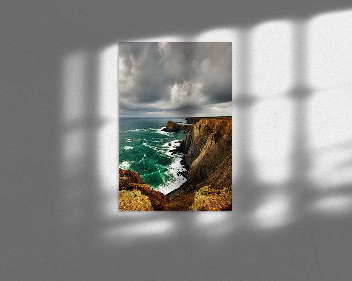 Beispiel: Wolken en Rotsen, Rocks and Clouds von Harrie Muis