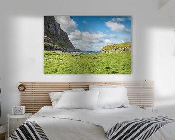 Vesteralen Noorwegen landschap ruige zee van Evelien van der Horst
