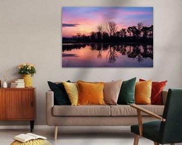 Prachtige zonsopkomst! van Gerard van der Wal