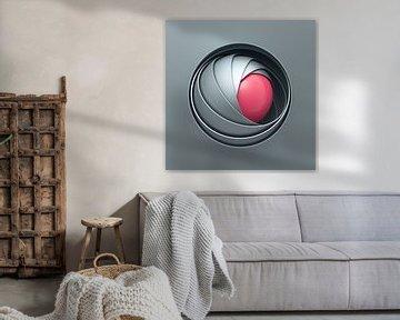 Kugel-Schalen grau-pink von Jörg Hausmann