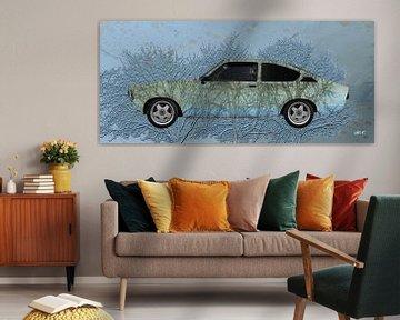 Opel Kadett C Art Car 3 Bomen speciaal van aRi F. Huber