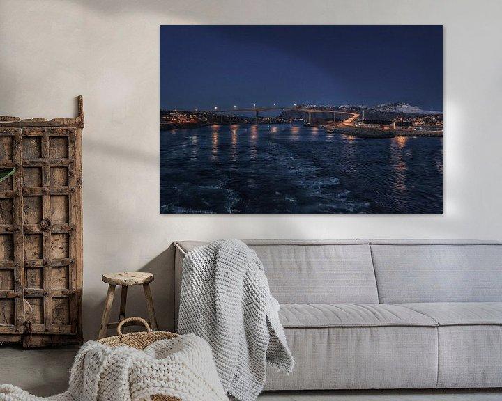 Sfeerimpressie: Brønnøysund - Nordland - Noorwegen van Mart Houtman