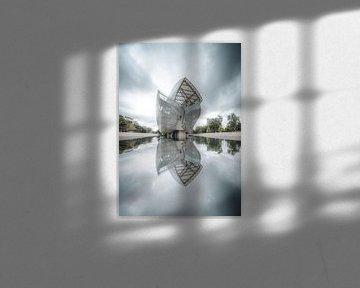 Fondation Louis Vuitton Reflectie Parijs van vedar cvetanovic