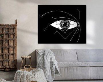 Hypnotisieren (Auge) von Marcel Kerdijk