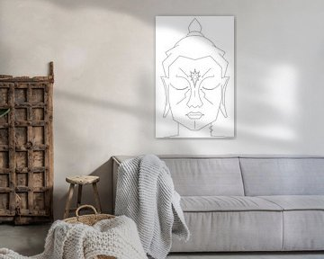 Paccekabuddha (Boeddha) van Marcel Kerdijk