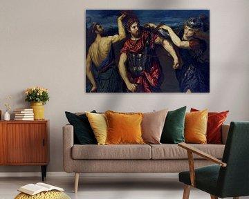 Paris Bordon, Perseus bewaffnet mit Merkur und Minerva - 1550