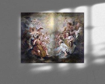 Engel machen Musik, Peter Paul Rubens - 1627