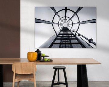 Stairway to.... van Ruud van Ravenswaaij