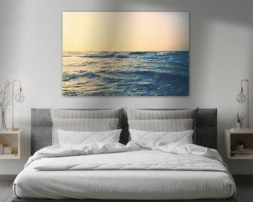Gouden Noordzee van Florian Kunde