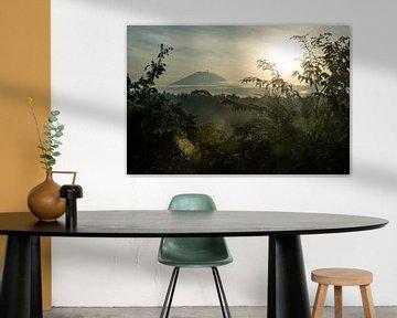 Vulkan Gunung Agung von Ubud von Ellis Peeters