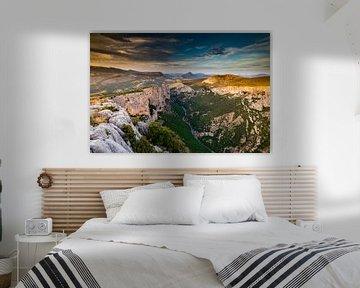 Gorges du Verdon - Frankrijk van Damien Franscoise