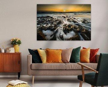 Kustlandschap Cornwall van Damien Franscoise