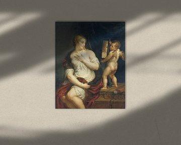 Peter Paul Rubens, Venus und Amor - 1611 von Atelier Liesjes