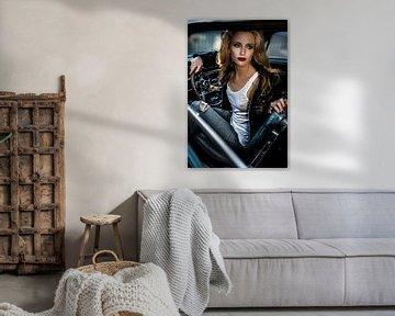 Wachten op mijn 69' Ford Mustang te keren, Peter Müller Photography van 1x