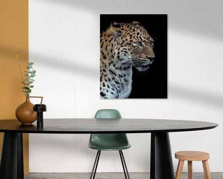 Beispiel: Panthere Porträt-Version 2.0, Laurent Lothare Dambreville von 1x