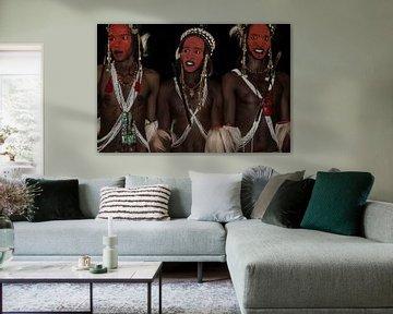 Gerewol festival by night - Niger, Joxe Inazio Kuesta van 1x