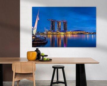 Marina Bay Singapur von Adelheid Smitt