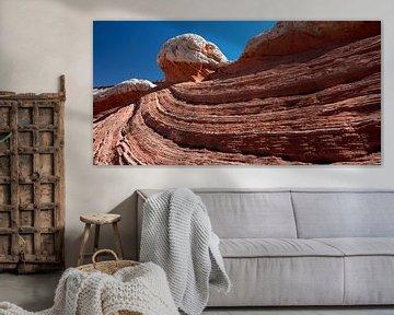 White Pocket swirl 02 in Arizona (USA) van Jan Roeleveld