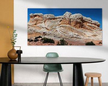 White Pocket Buttes in Arizona (USA) van Jan Roeleveld