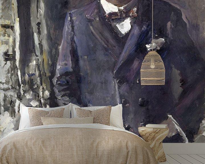 Beispiel fototapete: Porträt des Reichspräsidenten Friedrich Ebert, Lovis Corinth