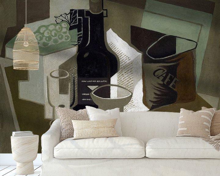 Beispiel fototapete: Die Tüte Kaffee, Juan Gris