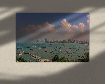 Aussicht auf Pattaya von Andreas Marquardt