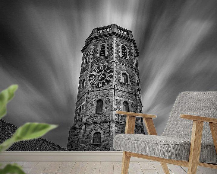 Impression: Photo en noir et blanc du beffroi de Menin sur Fotografie Krist / Top Foto Vlaanderen