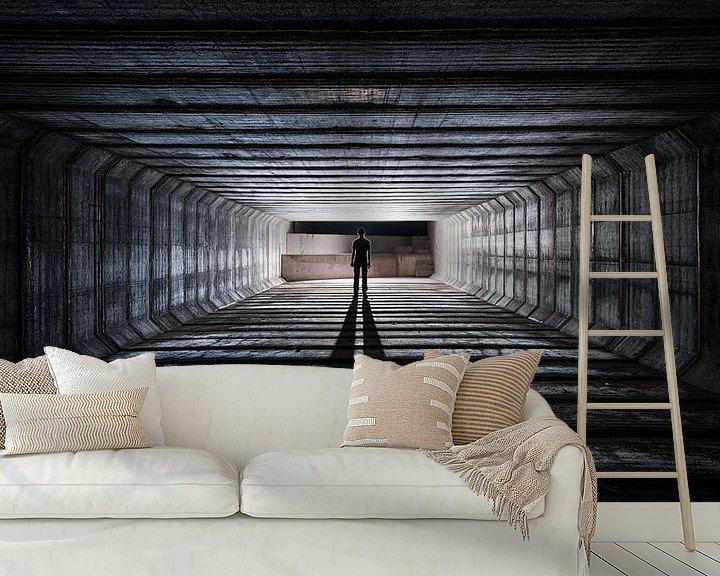 Sfeerimpressie behang: Urban Explorers - Squared van Jeroen van Dam