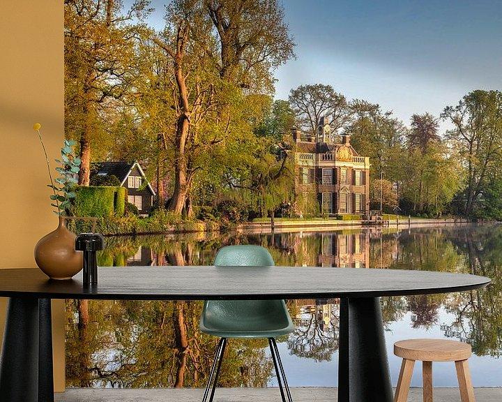 Beispiel fototapete: Landhaus Rupelmonde an der Vecht von Frans Lemmens
