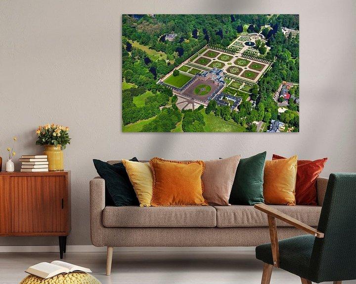 Impression: Photo aérienne du palais Het Loo près d'Apeldoorn sur Frans Lemmens