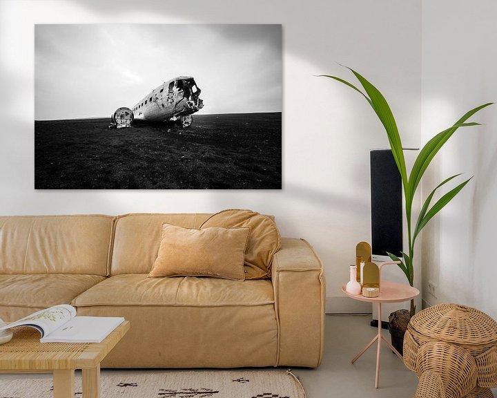 Sfeerimpressie: AIRCRAFT WRACK van Matthias Stange