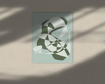 Abstract dynamics Teal van Qeimoy