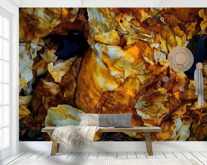 Sfeerimpressie behang: Organisch van Jenco van Zalk