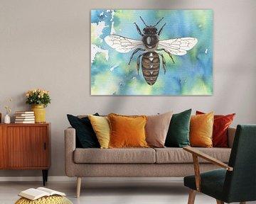 Honigbienenkönigin von Jasper de Ruiter