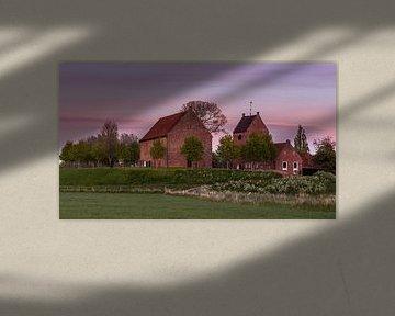 Kirche von Ezing von Marga Vroom