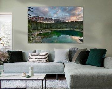 Lago di Carezza / Karersee van Ruud van der Bliek / Bluenotephoto.nl