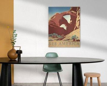 Siehe Amerika: Arches-Nationalpark von Vintage Afbeeldingen