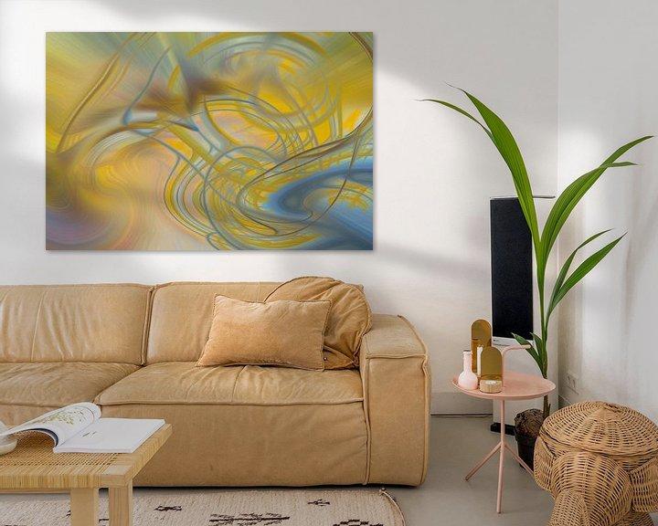 Sfeerimpressie: Digital abstract 20 van Leo Luijten