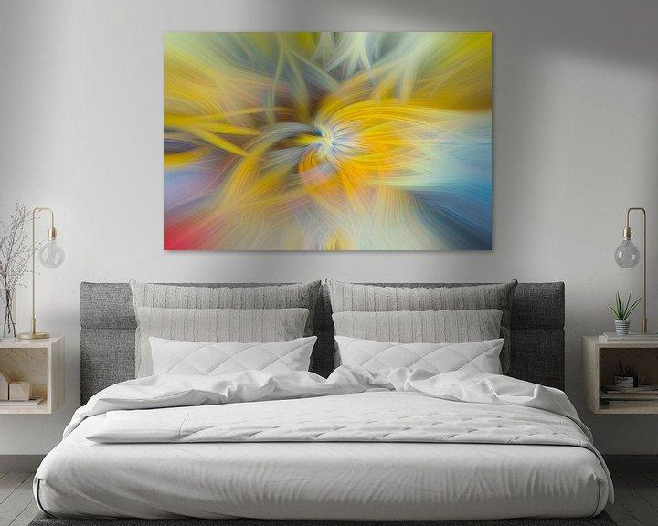 Sfeerimpressie: Digital abstract 23 van Leo Luijten