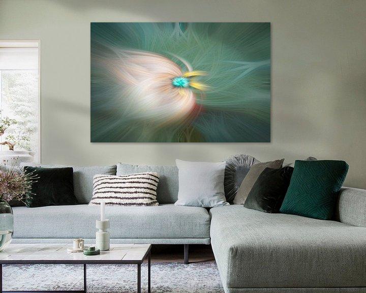 Sfeerimpressie: Digital abstract 24 van Leo Luijten