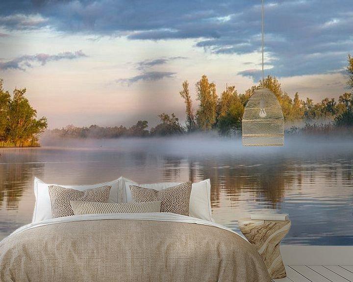 Beispiel fototapete: Morgenglühen im Biesbosch von Frans Lemmens
