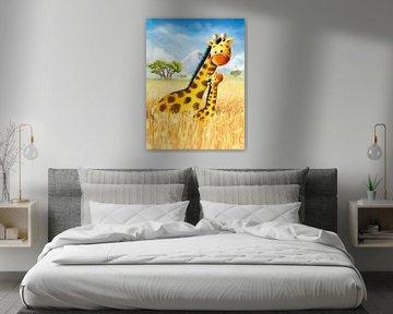 Giraffen in Afrika von Stefan Lohr