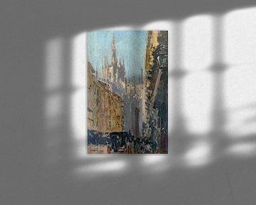 Kathedrale von Mailand, Walter Sickert - 1895