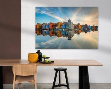 Reitdiephaven in Groningen von Michael Valjak