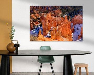Bryce Canyon in winter [2] van Adelheid Smitt