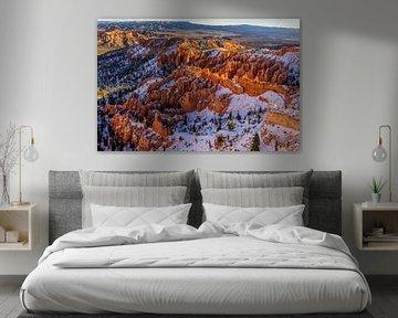 Bryce Canyon in Winter [3] van Adelheid Smitt
