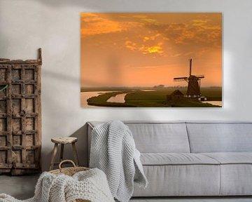 Molen op Texel van Sjoerd van der Wal