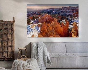 Bryce Canyon in winter [5] van Adelheid Smitt